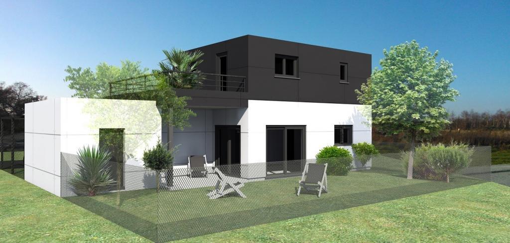 Maison individuelle tage nos conceptions for Conception de maison neuve