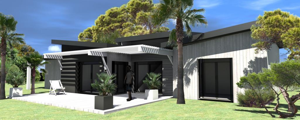 Maison individuelle de plain pied nos conceptions for Conception maison moderne