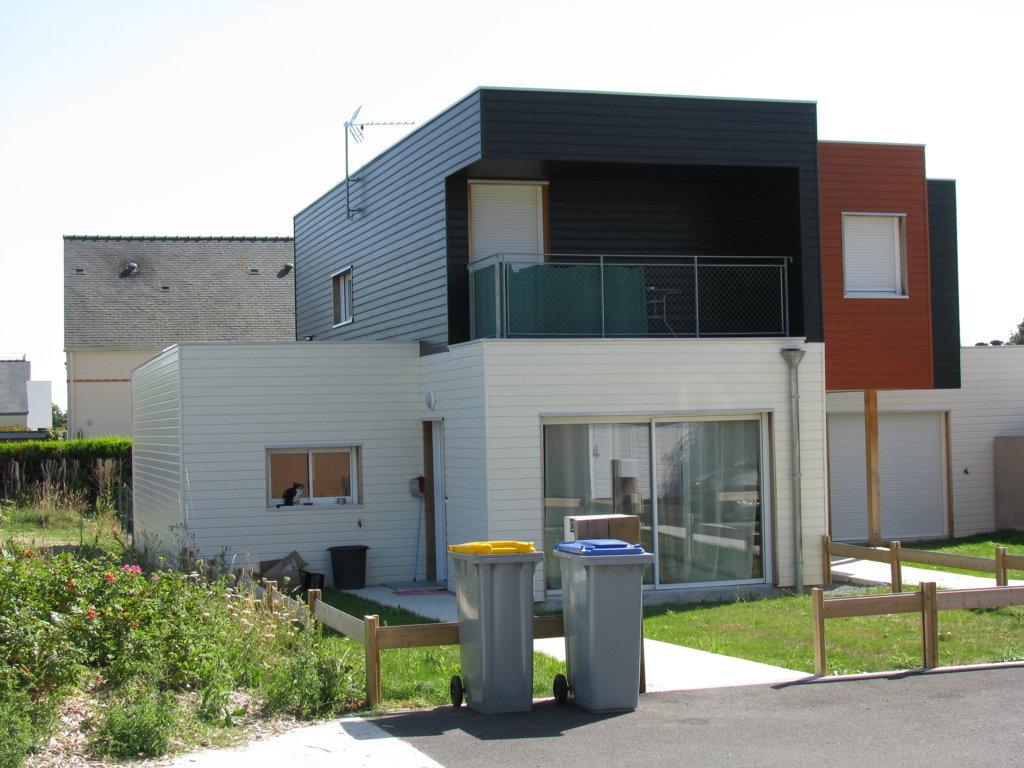 Etage toiture terrasse maisons individuelles nos for Terrasse etage maison